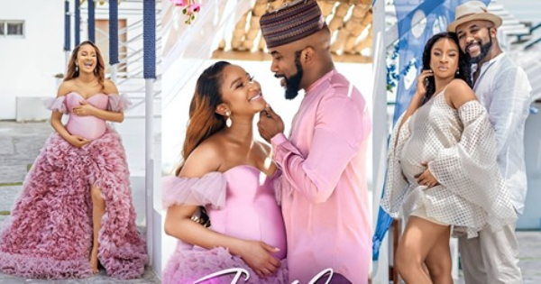 Banky W and Adesua welcome first child