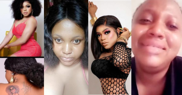 Ewatomi gold harrassed because of tattoo of bobrisky