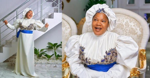 Toyin Abraham Excited