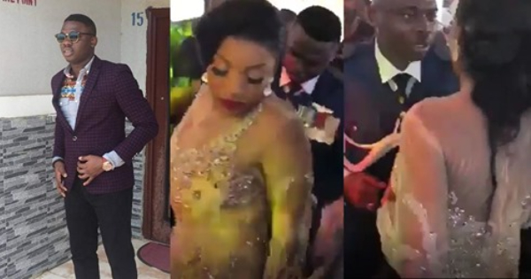 Olufade dancing with his wife