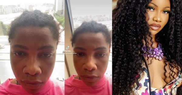 Tacha showing off her face without makeup