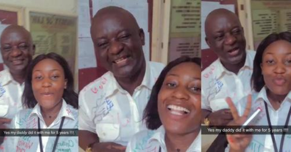 Nigerian Lady Final Examinations For 5 years