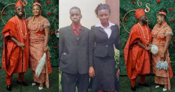 A Nigerian Lady Married After 17 Years Of Friendship